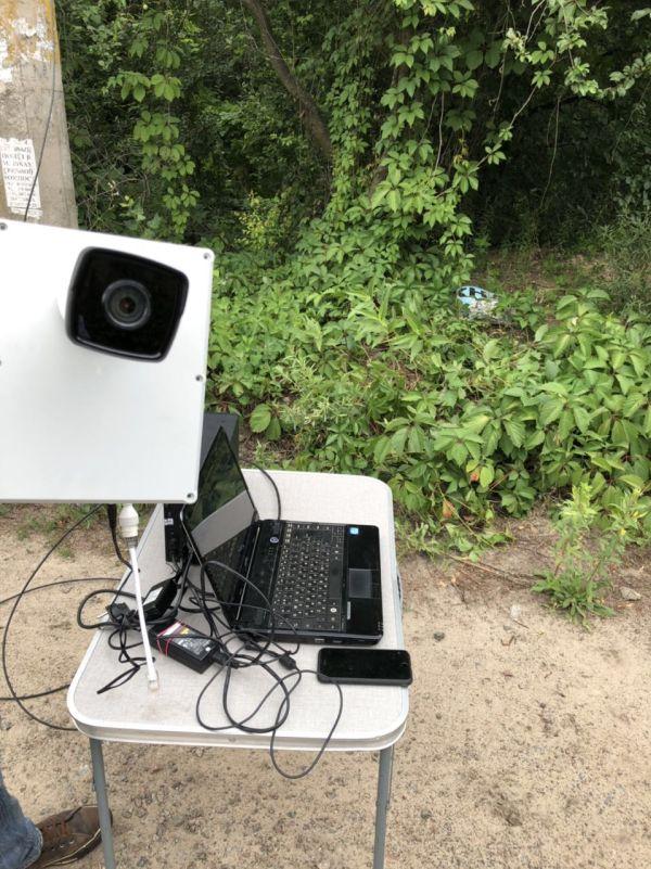 Установка видеонаблюдения (дачный кооператив, Киевская область)