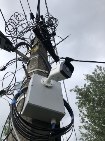 установка видеонаблюдения киев