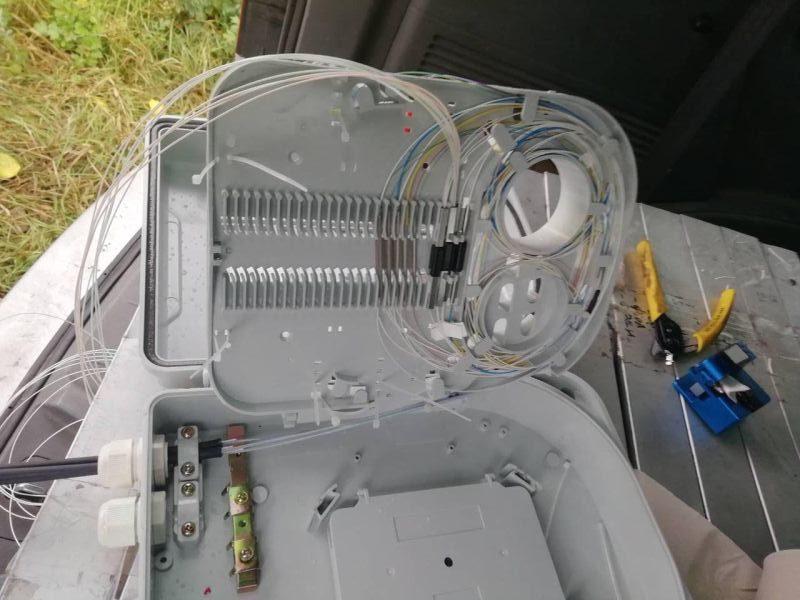 прокладка оптического кабеля Бобровица