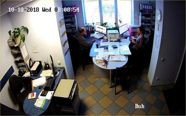 установка видеонаблюдения элеватор
